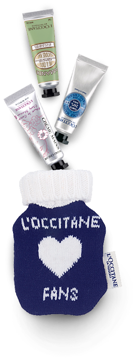 Free Fan Pouch L'Occitane