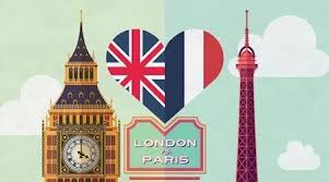 Londres vs Paris, l'infographie !