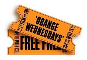 Orange Wednesdays : 2 places de ciné pour le prix d'une !