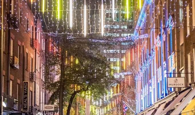 Christmas Shopping Night à Seven Dials