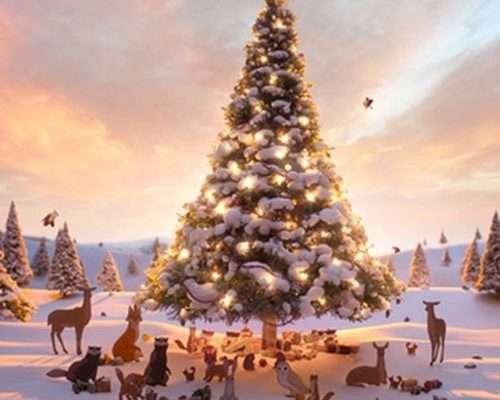 Le lièvre et l'ours, la pub de Noël 2013 de John Lewis